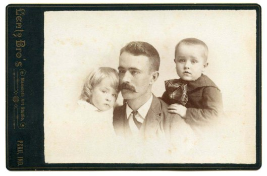 This cabinet card probably dates to the 1890s.