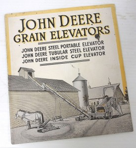 John Deere Grain Elevators booklet.